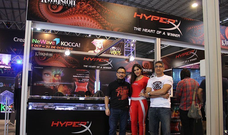 HyperX destacó en el MGTF 2015