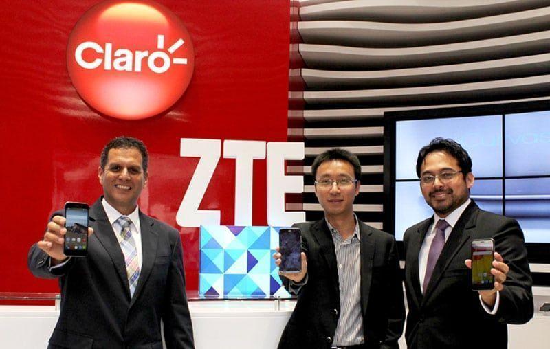 ZTE y CLARO presentan el nuevo Blade V6