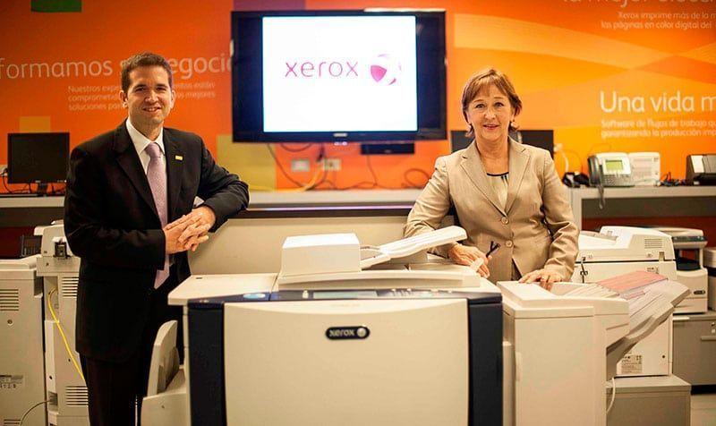 Alta Ejecutiva de Xerox visitó Perú