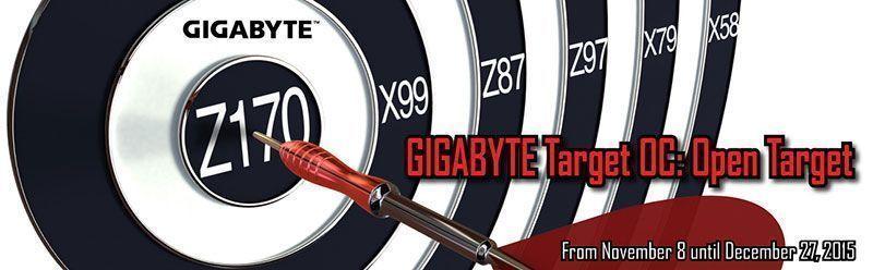 GIGABYTE Hosts Target OC: Open Target