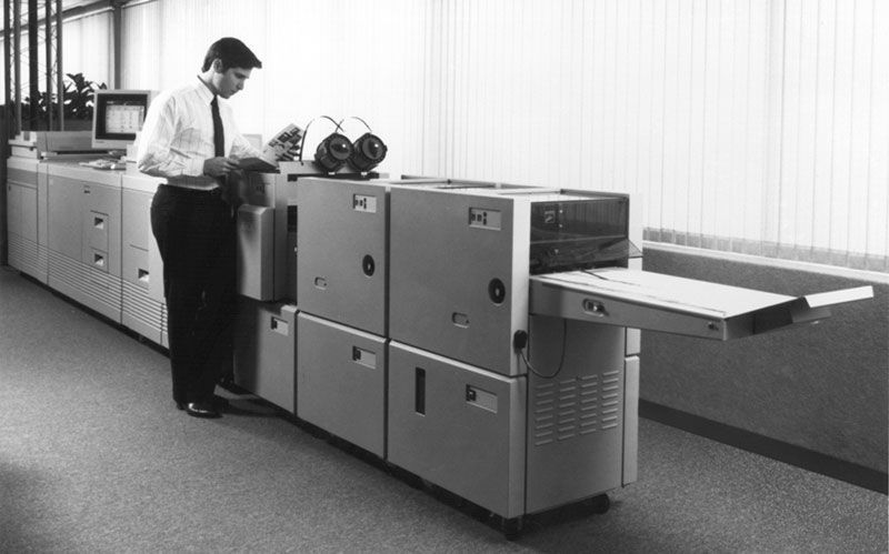 Xerox Docutech celebra 25º aniversario