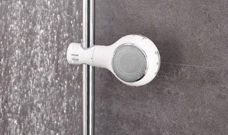 Disfruta de música en la ducha con Aquatunes