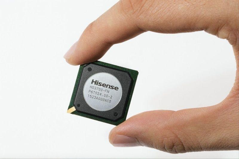 Hisense lanza chip para televisor inteligente