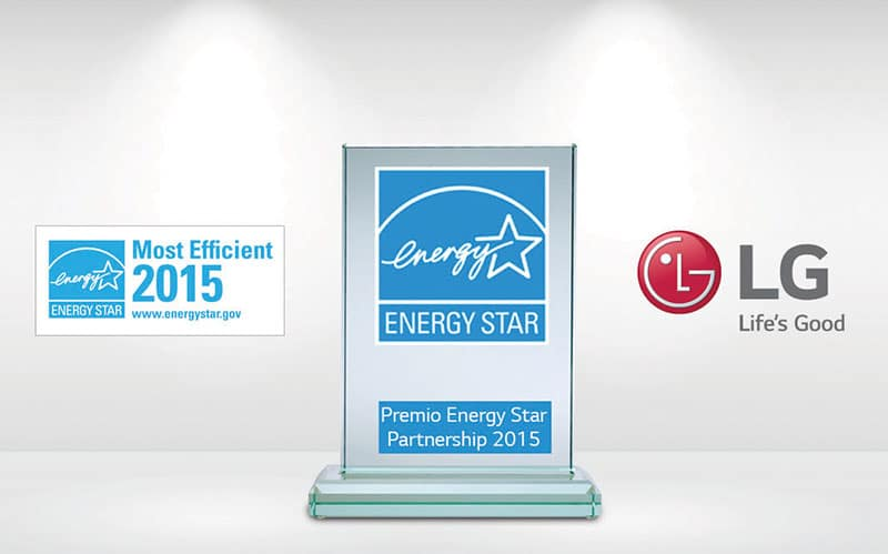 LG recibe Premio Energy Star 2015