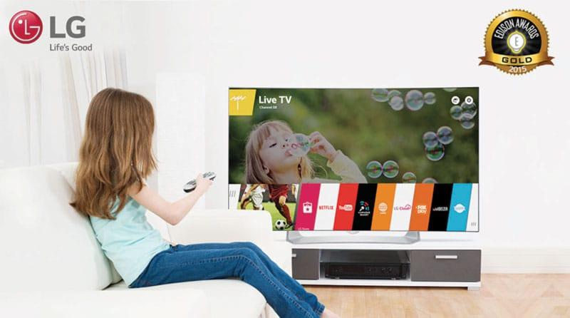 OLED TV de LG recibe Premio