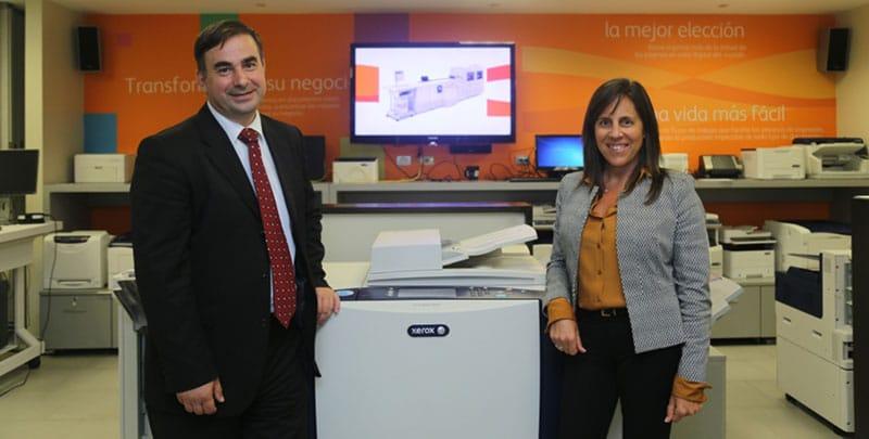 Xerox del Perú recibe importante visita