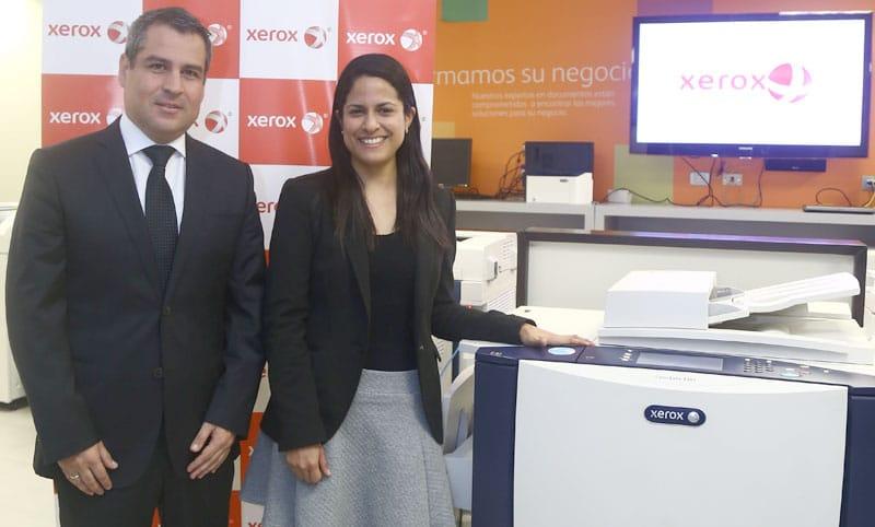Xerox del Peru presente en Perumin 2015