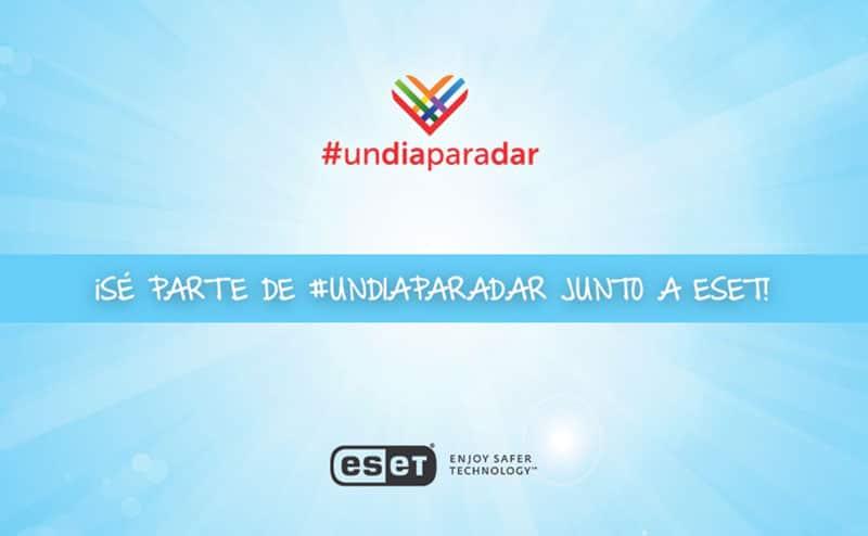 ESET participará en un #UnDíaParaDar