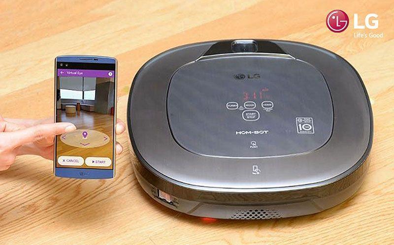 LG presentará aspiradora inteligente en CES 2016