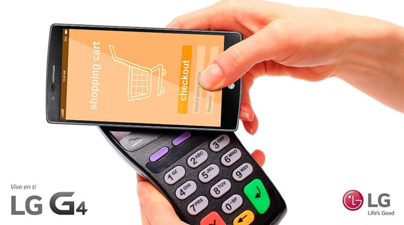 LG lanzó sistema de pago por móvil