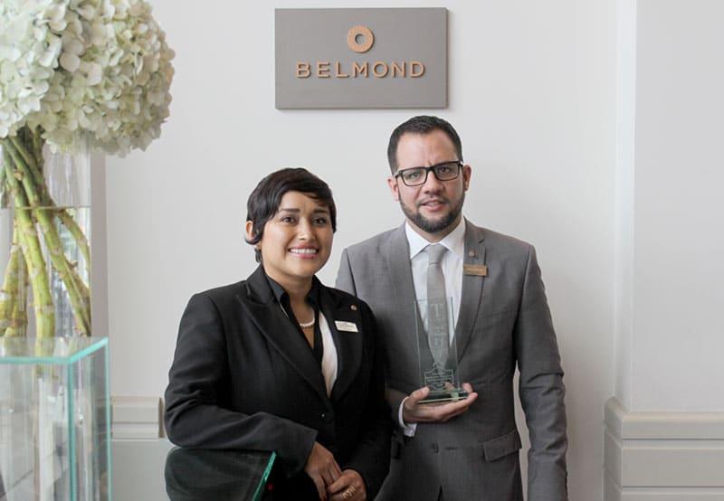 Belmond Miraflores Park recibe importante galardón