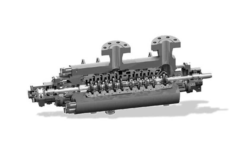 Nueva Turbina hidráulica de Leo Group