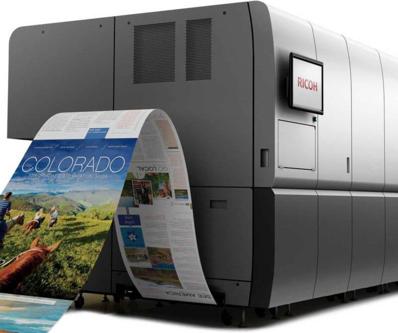 RICOH Pro VC60000 ofrece alta velocidad