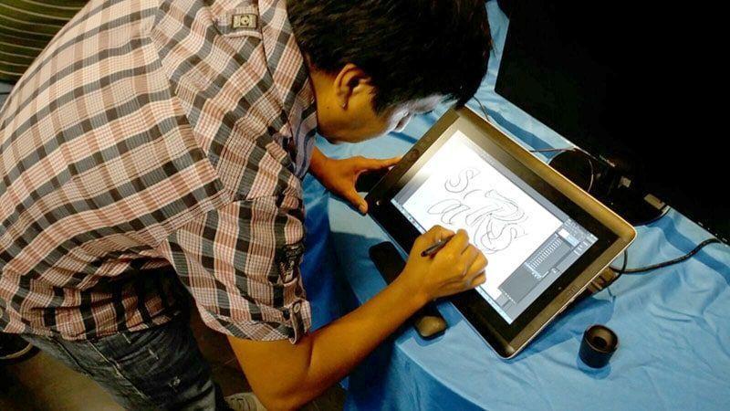 Wacom promueve a artistas peruanos