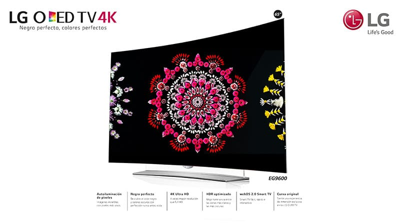 "LG OLED TV 4K ganó premio ""TV del año"""