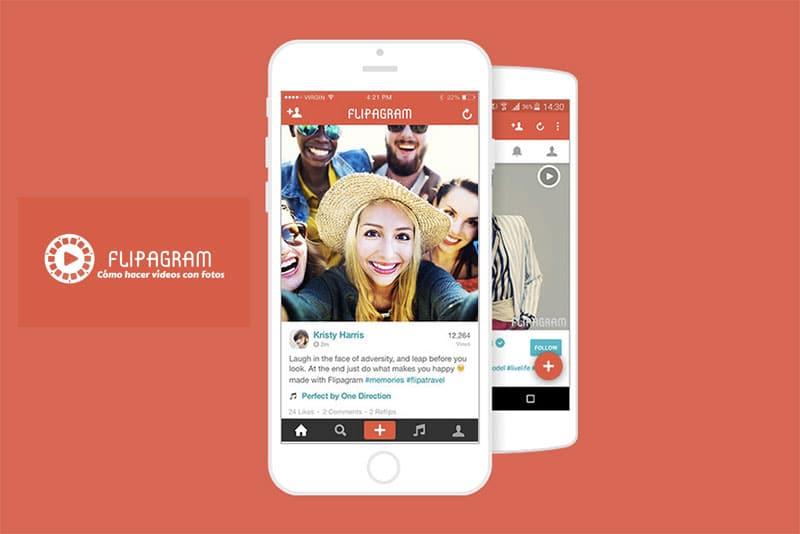 Flipagram más historias de fotos-videos