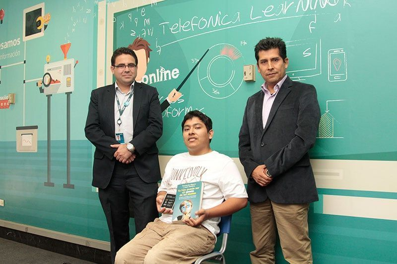 Joven peruano ganó reto STEMbyme