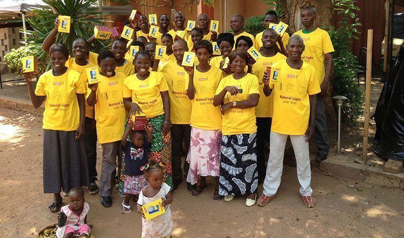 Lámparas solares VELUX Natural Light llegan a África