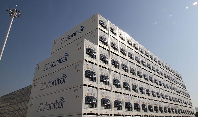 ZIM amplía flota de contenedores refrigerados