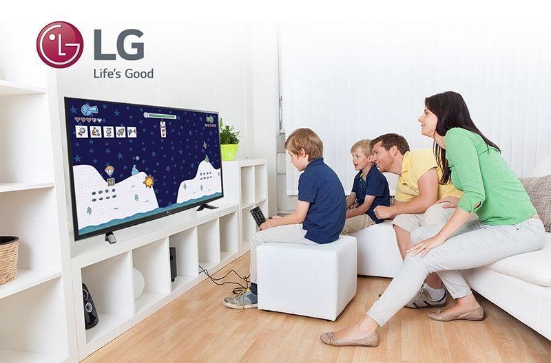 LED Game TV el televisor de LG para los más pequeños