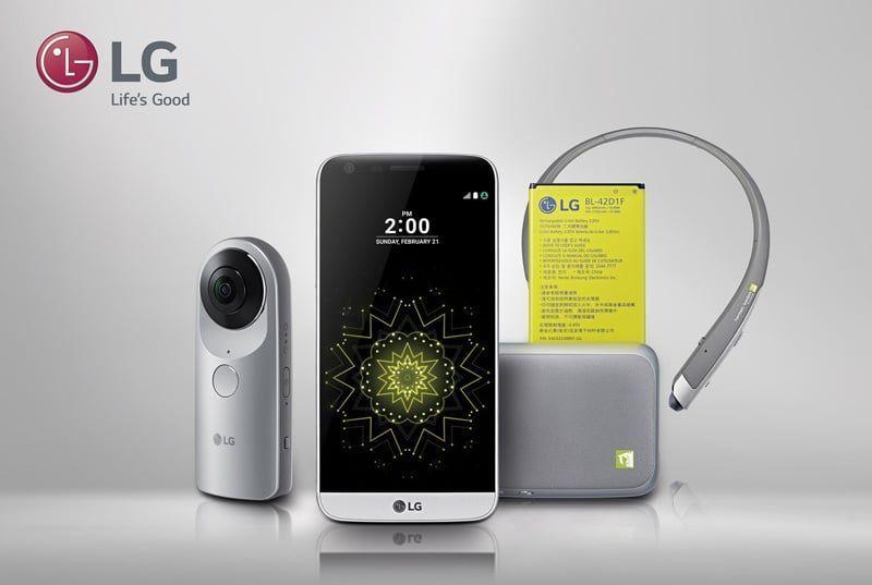 ¿Para qué sirven los accesorios del nuevo LG G5SE?