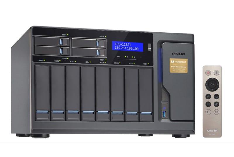 QNAP anuncia serie de negocios de alto rendimiento del NAS TVS-x82