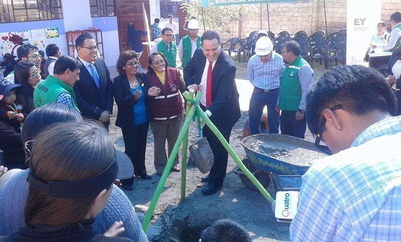EY inicia el proyecto de inversión en educación pública en Arequipa