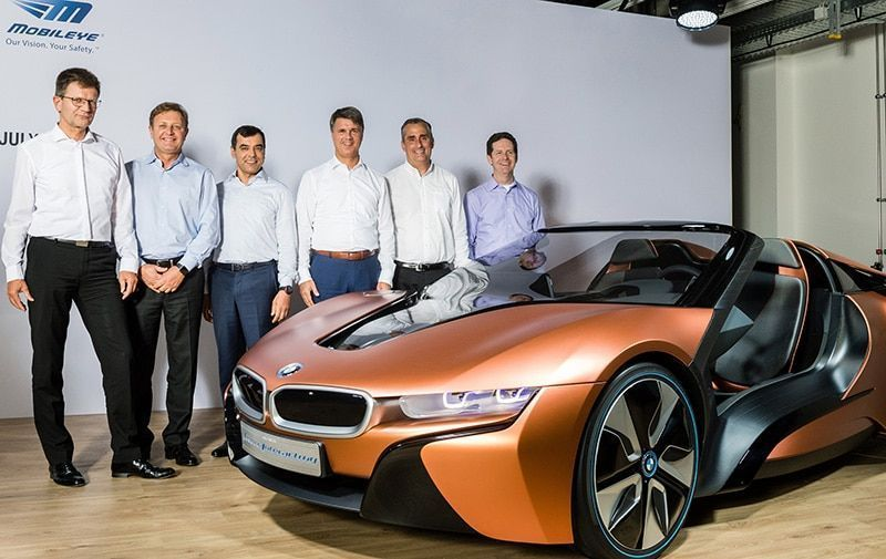 BMW Group, Intel y Mobileye se asocian