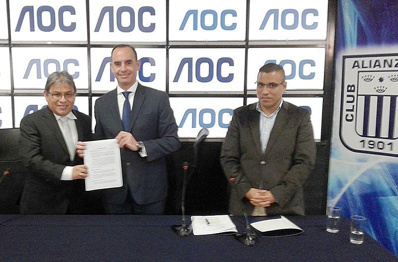 AOC Convertirá el estadio de Alianza Lima en el más moderno del Perú