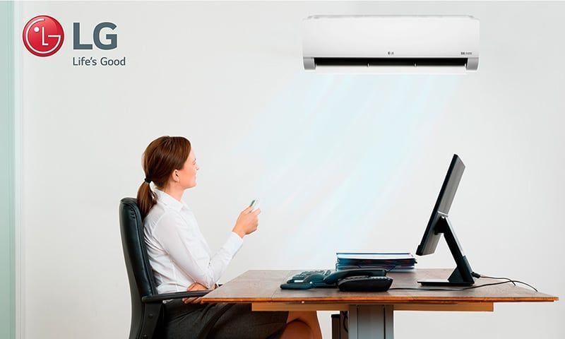 LG lanza aire acondicionado DUALCOOL