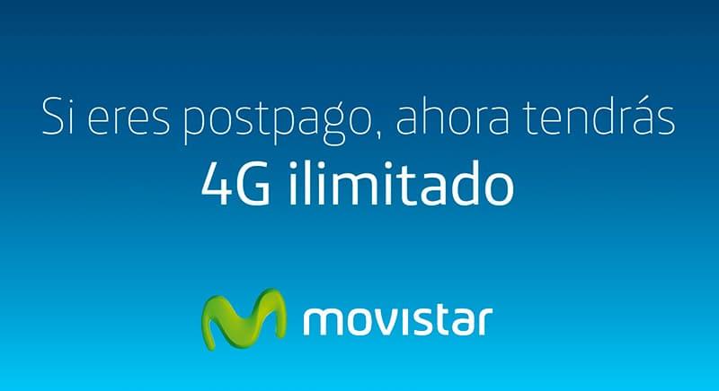 Movistar Perú Ofrece 4G Ilimitado