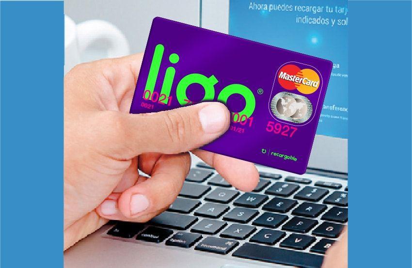 Lanzan LIGO tarjeta recargable para comprar por Internet