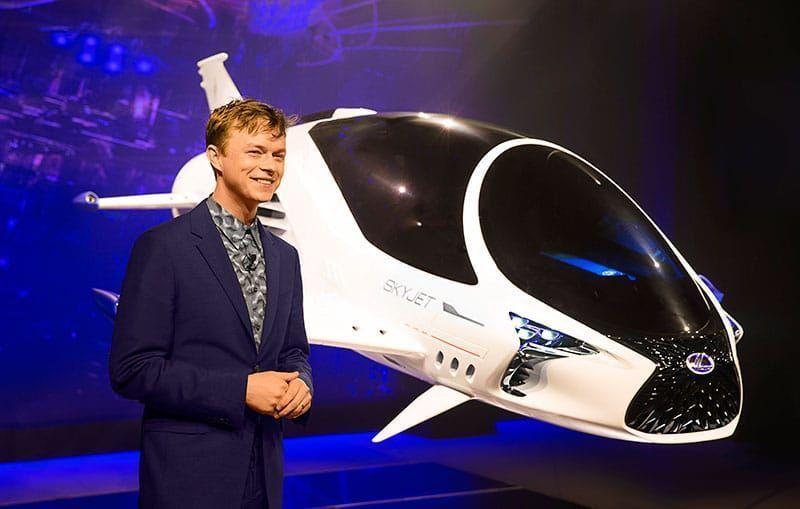 Innovadores Lexus Sport Yacht y Lexus Skyjet