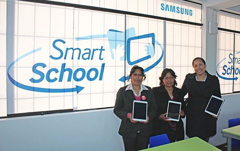 Colegio Mariano Melgar inaugura Aula Inteligente en Puno