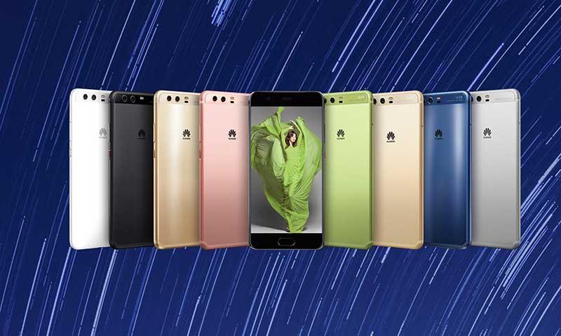 Huawei lanzó nuevos Huawei P10 y P10 Plus