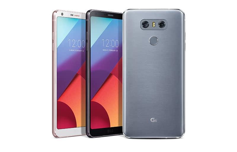 LG lanzó smartphone LG G6 con pantalla FullVision® QHD