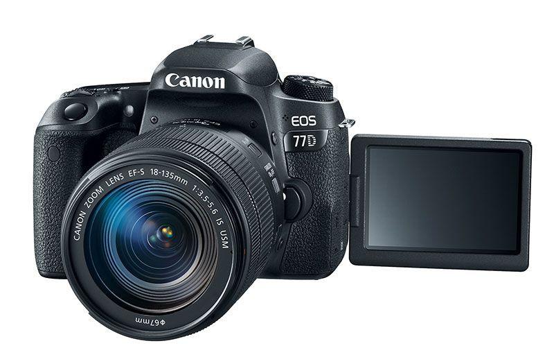 Nuevas Cámaras Canon EOS Rebel T7i Y EOS 77D