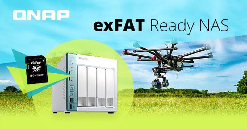 QNAP, Microsoft y Paragon Software lanzan unidad exFAT