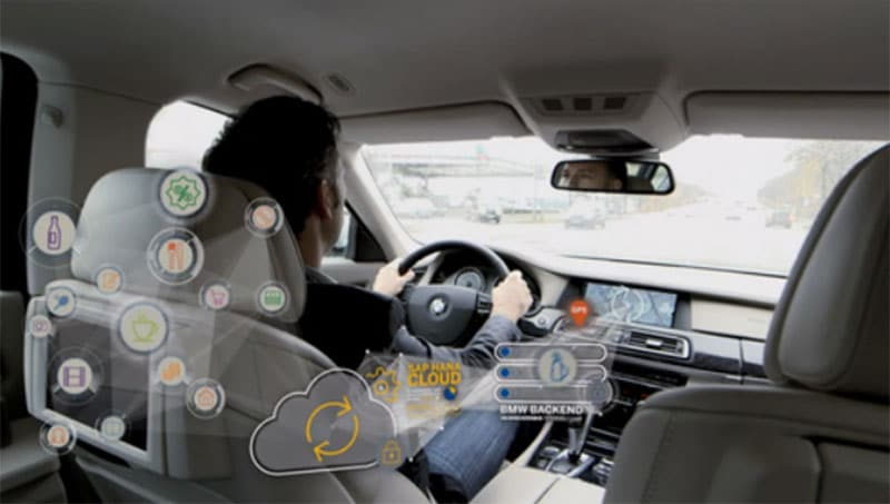 SAP presenta nueva tecnología para vehículos conectados