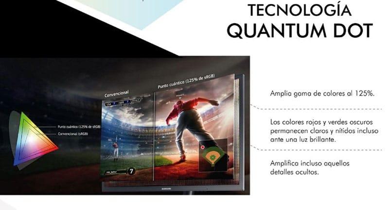 Samsung presenta monitores curvos para videojuegos Quantum Dot