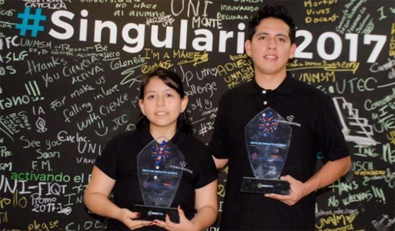 Estudiantes de la UPCH becados para estudiar en la Singularity University