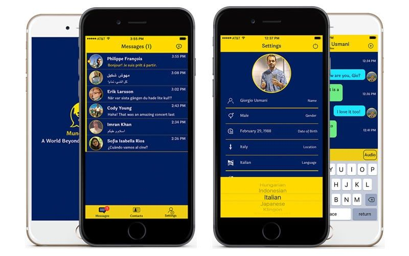 Mundo Chat, app de mensajería con traducciones simultáneas