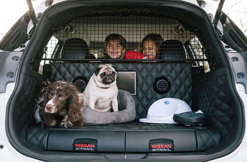 Nissan X-Trail 4Dogs: el coche perfecto para las aventuras familiares