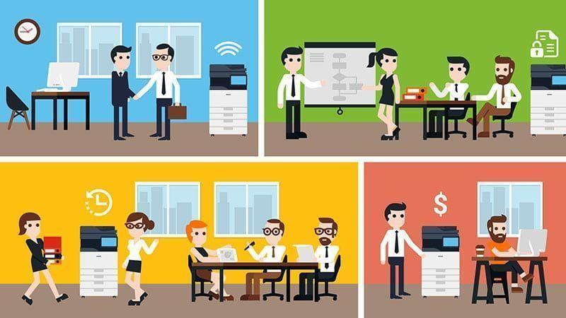Outsourcing de impresión: beneficios para las PyMEs y grandes empresas