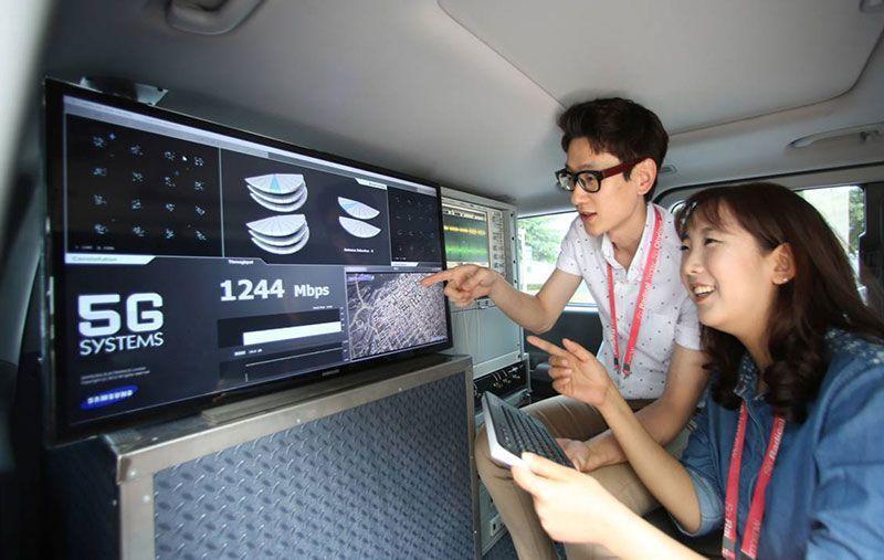Samsung anunció completo portafolio de productos y soluciones 5G
