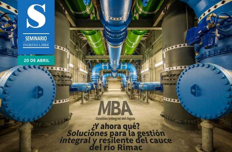 CCA y la UPCH organizan seminario acerca del MBA en Gestión del Agua