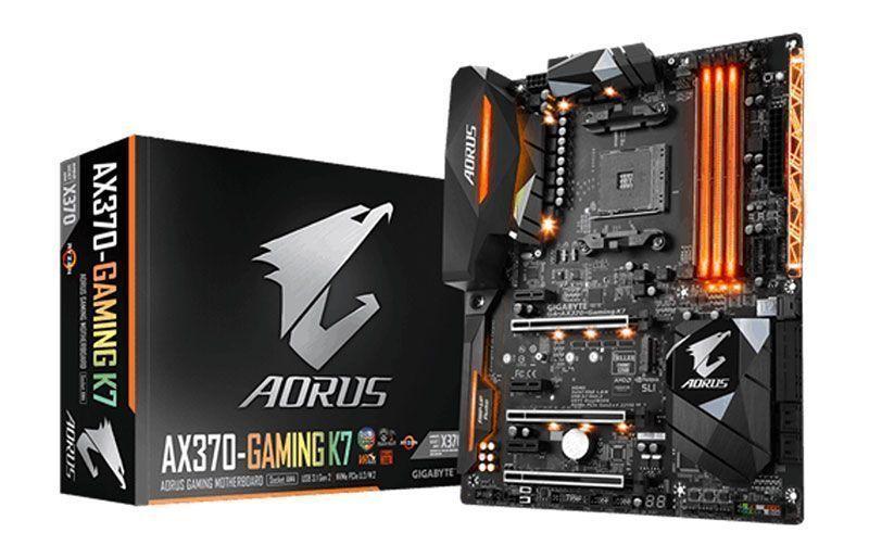 GIGABYTE muestra la nueva AORUS GA-AX370-Gaming K7
