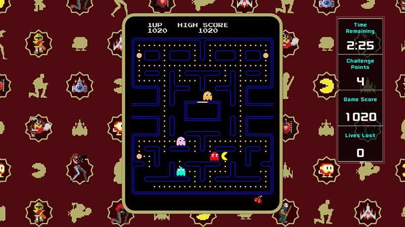 PAC-MAN, Galaga y otros clásicos Arcade llegan a Nintendo Switch