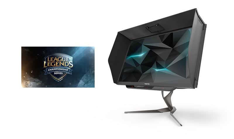 Acer Patrocinador Oficial de League of Legends Esports 2017