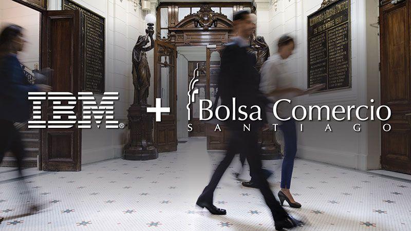IBM y Bolsa de Santiago entregarán solución Blockchain